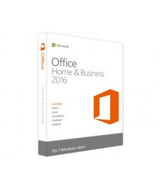 Microsoft Office 2016 Home & Business Win Nor Medialess