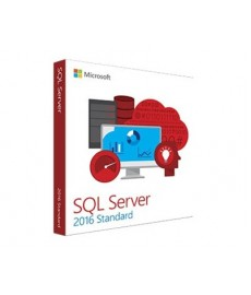 Microsoft SQL Server 2016 Standard English + 10 CAL DVD