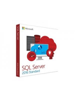 Microsoft SQL Server 2016 Standard English + 10 CAL DVD