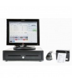 NorPos pro butikkdata Webkasse PC Skuff Printer Skanner