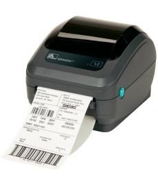 Zebra GK420d termisk etikettskriver Serie/USB